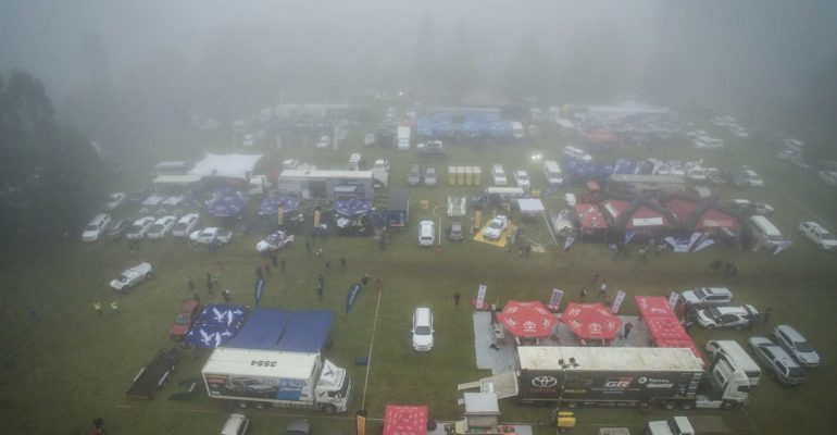 Wet & misty conditions at the Mpumalanga 400