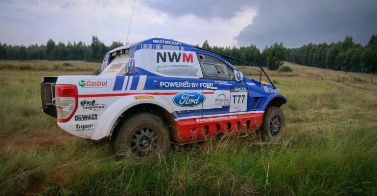 Dream start for Ford NWM Ranger team on Mpumalanga 400