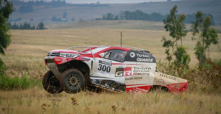 De Villiers/Howie take early lead in production vehicle championship