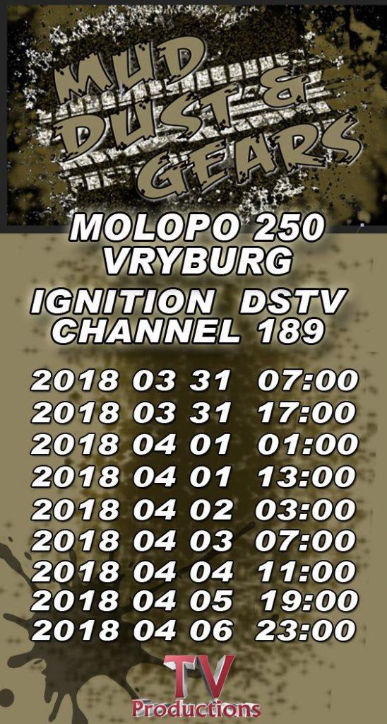 TV: Molopo 250