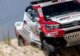 TOYOTA PROUD TO SUPPORT THE ROAD TO DAKAR AT 2018 DESERT RACE