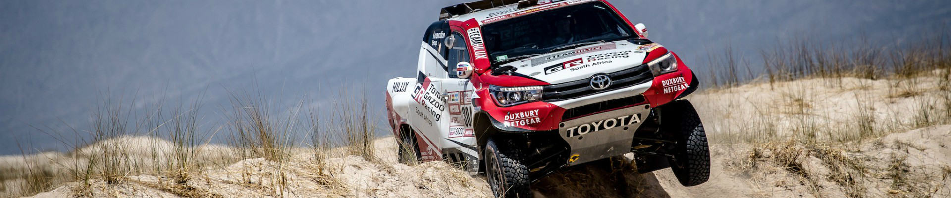 Toyota Road to Dakar
