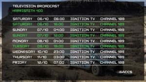 TV: Harrismith 400
