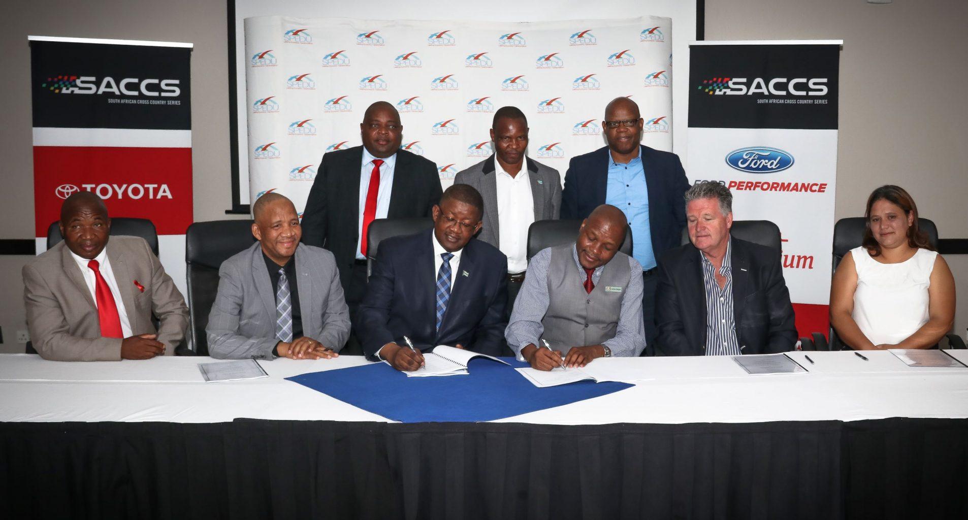 Signing of the memorandum of agrrement - TDR 1000