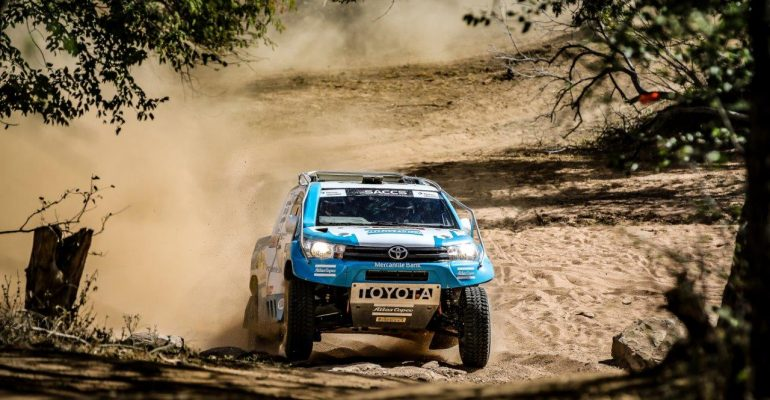 Visser and Herselman victorious after tricky Toyota Desert Race in Botswana