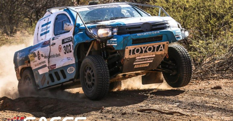 Punishing Toyota 1000 Desert Race adds spice to Production vehicle title standings
