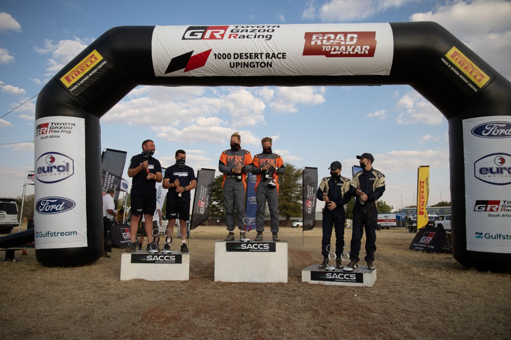 Finishers earned good points in the desert resulting in new special vehicle standings