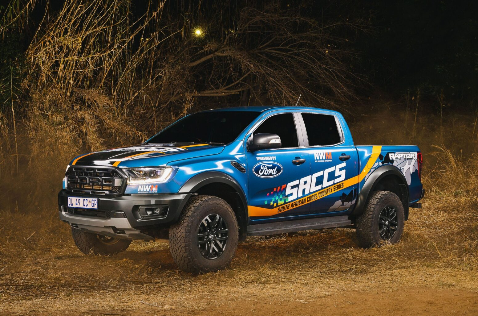 Ford Ranger the official route vehicle for SACCS