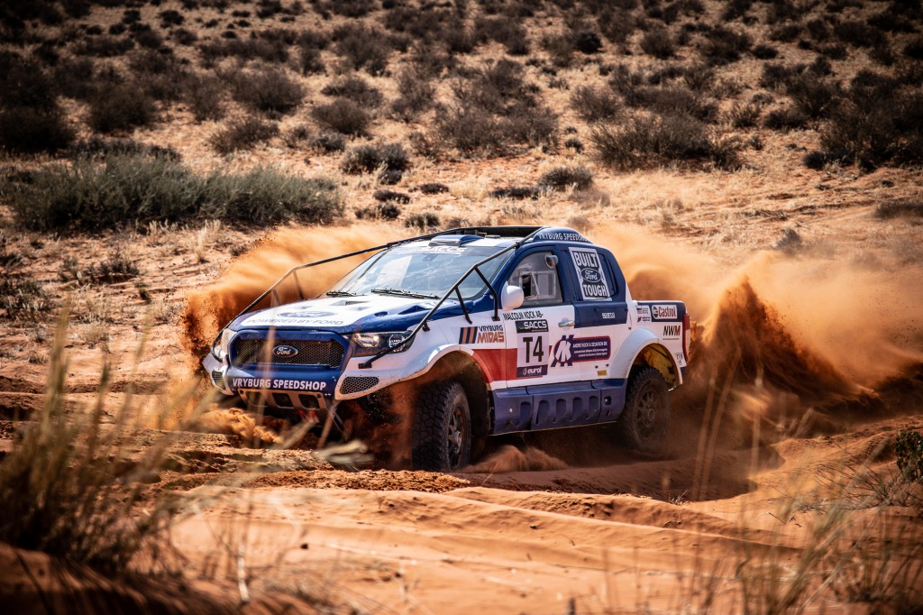 New leaders in production vehicle category after testing TGRSA 1000